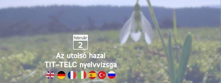 Februri TELC nyelvvizsga