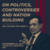 Sen. Trillanes IV on Politics Controversies and Nation-Building