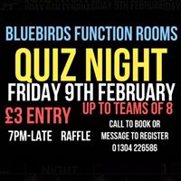 Quiz Night At Bluebirds with donation to The Kelly Turner Foundation