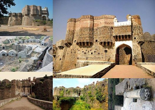 Aasamants Udgir & Ausa Forts on 9 Dec
