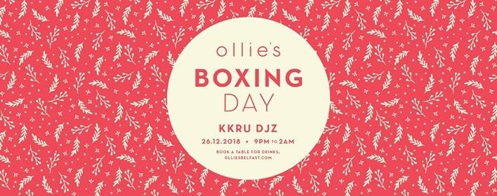 Boxing DAY AT Ollies