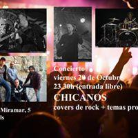 CHICANOS en concierto (Central de Cambrils)