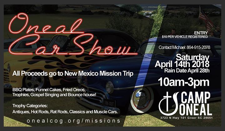 Oneal Car Show New Mexico Fundraiser At Camp Oneal Greer - Car show trophy categories