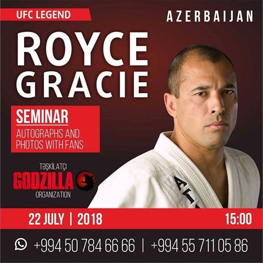 Royce Gracie Seminar
