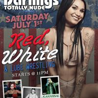 Red White and Lube Wrestling at Little Darlings Las Vegas