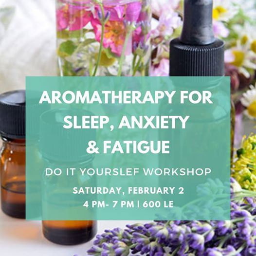 Aromatherapy at home  Sleep Anxiety & Fatigue