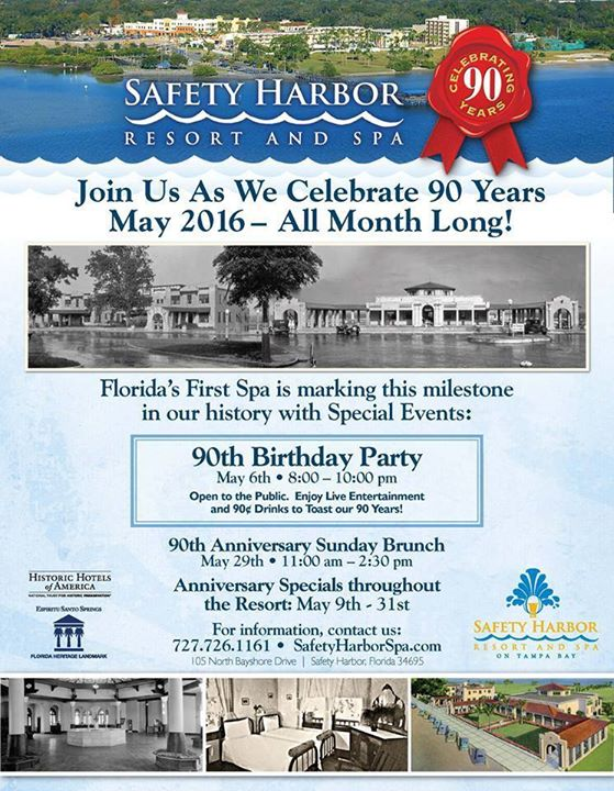 safety harbor spa 90th birthday bash safety harbor. Black Bedroom Furniture Sets. Home Design Ideas
