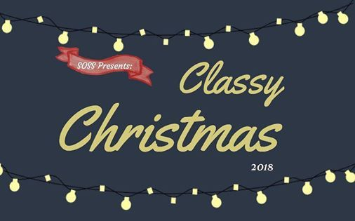 Classy Christmas Banners Staff Banners