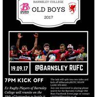 Barnsley College Old Boys Match 2017