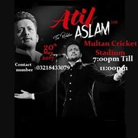 Atif Aslam live in multan