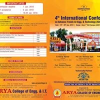 4th Int. Conference on Advance Trends in Engg. &amp Technology