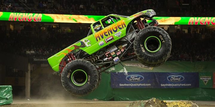 SOLD OUT - Monster Truck Madness
