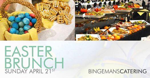 Easter Brunch at Bingemans  April 21