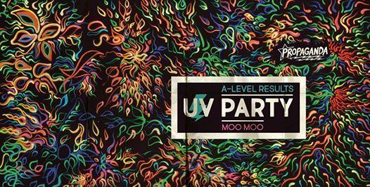A-Level Results UV Party at Propaganda Cheltenham - MooMoo