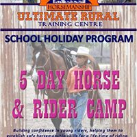 School Holiday Program - 5 Day Horse &amp Rider Camp