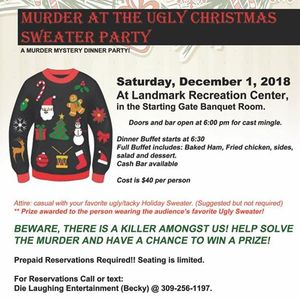 Mder at the Ugly Christmas Sweater Party A Mder Mystery