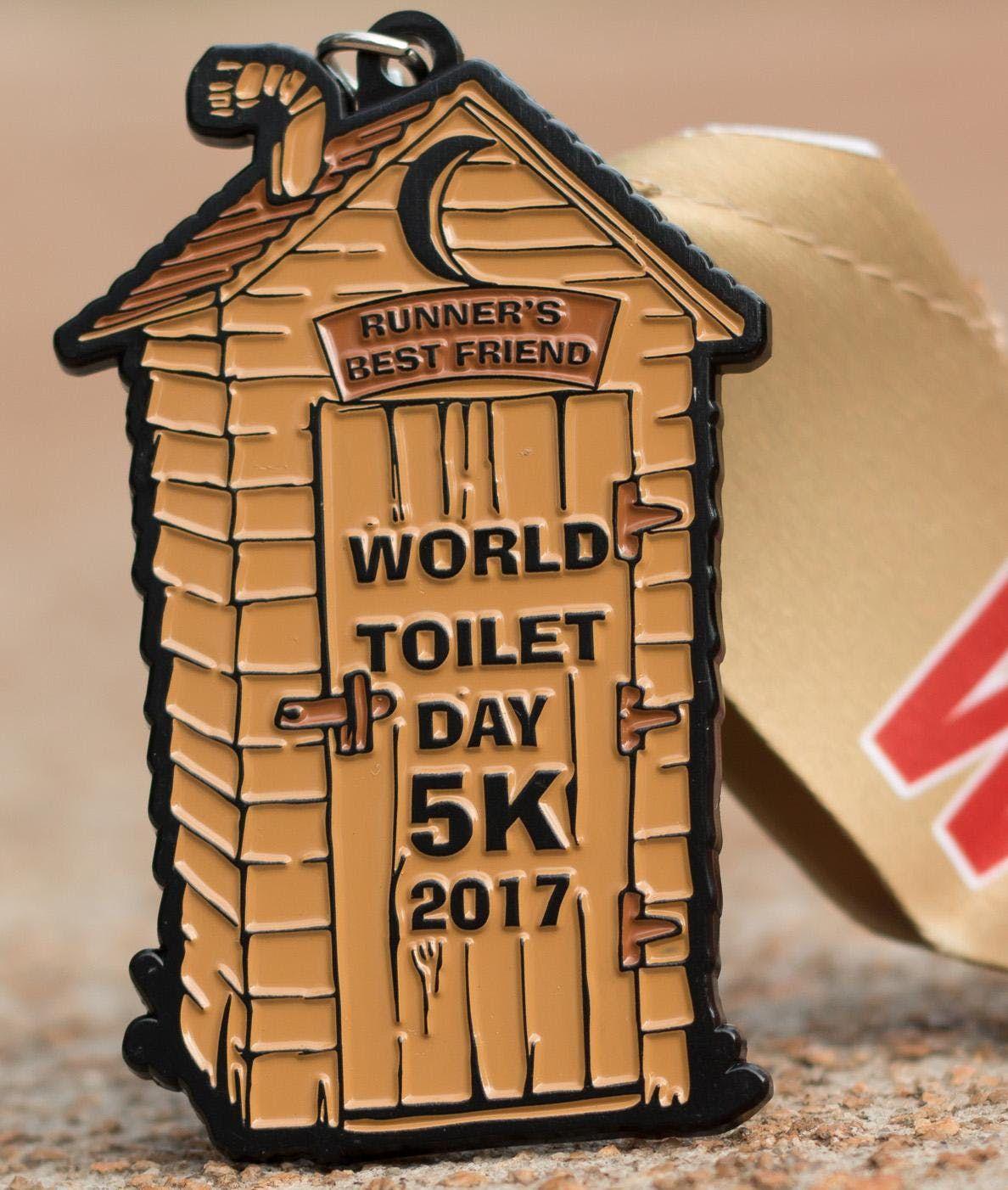 Now Only 8.00 World Toilet Day 5K - Cincinnati