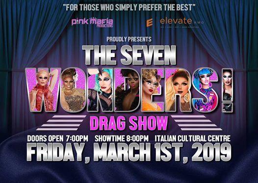 Seven Wonders Drag Show