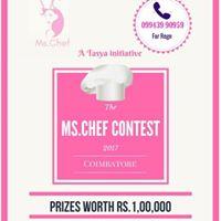 Ms.chef Contest Coimbatore