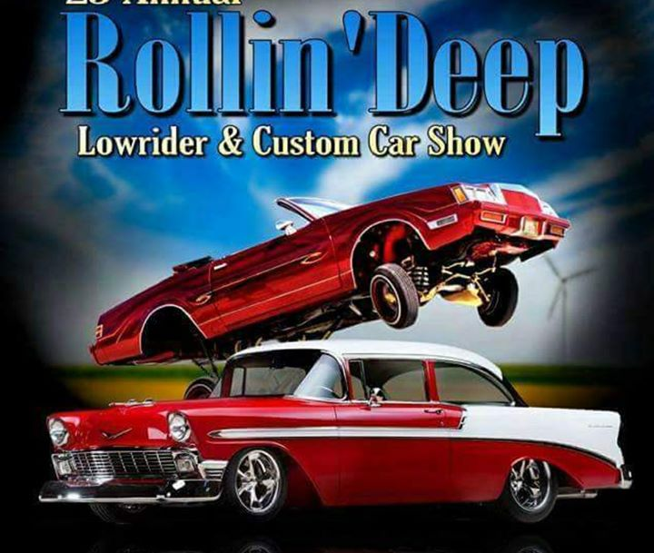 Th Annual Rollin Deep Lowrider Custom Car Show At Cole Park Alamosa - San diego lowrider car show 2018
