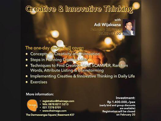 Creative & Innovative Thinking