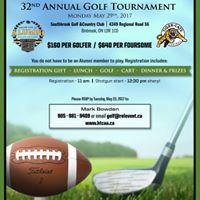 Hamilton Tiger-Cat Alumni - 32nd Annual Golf Tournament