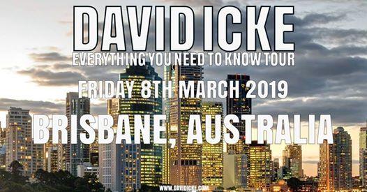 David Icke Live in Brisbane