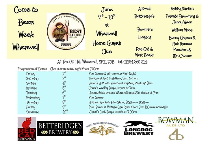 Beer Week Wherwell