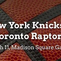 New York Knicks vs. Toronto Raptors
