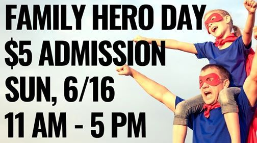 Discount Day Family Hero Day