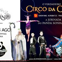 Circo Da China - Londrina - Shenyang Acrobatic Troupe