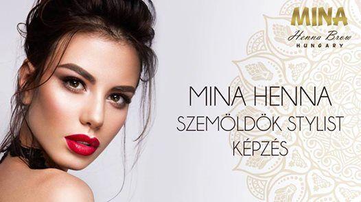 Megtelt Mina Henna Stylist kpzs kozmetikusoknak