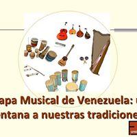 Mapa Musical de Venezuela una ventana a nuestras tradiciones.