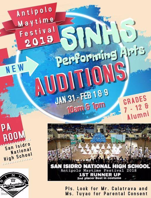 SINHS Performing Arts