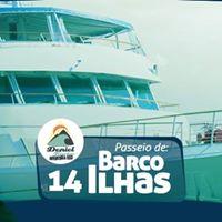Passeio de Barco 14 Ilhas (Sadas Curitiba)
