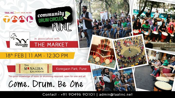 Community Drum Circle - Pune