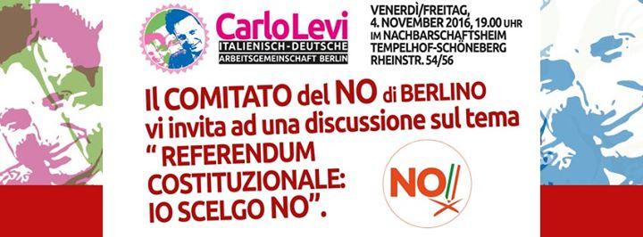 Referendum Costituzionale Io Scelgo No.