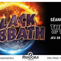 Black Sabbath &quot The End of the End&quot au Pandora