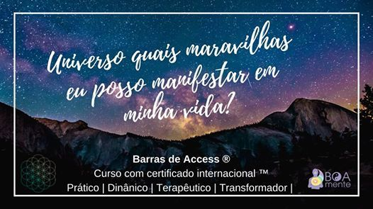 Curso Barras de Access Consciousness