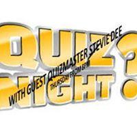Thursday Night is Quiz &amp Bingo Night