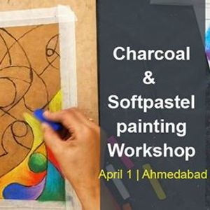 Charcoal &amp Soft-pastel Painting Workshop