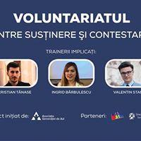 Training - Voluntariatul intre Sustinere si Contestare