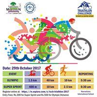 Triathlon Challenge presented by Vadodara Marathon &amp TCCB
