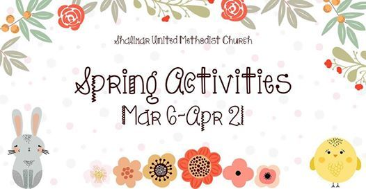 Spring Activities - All Ages