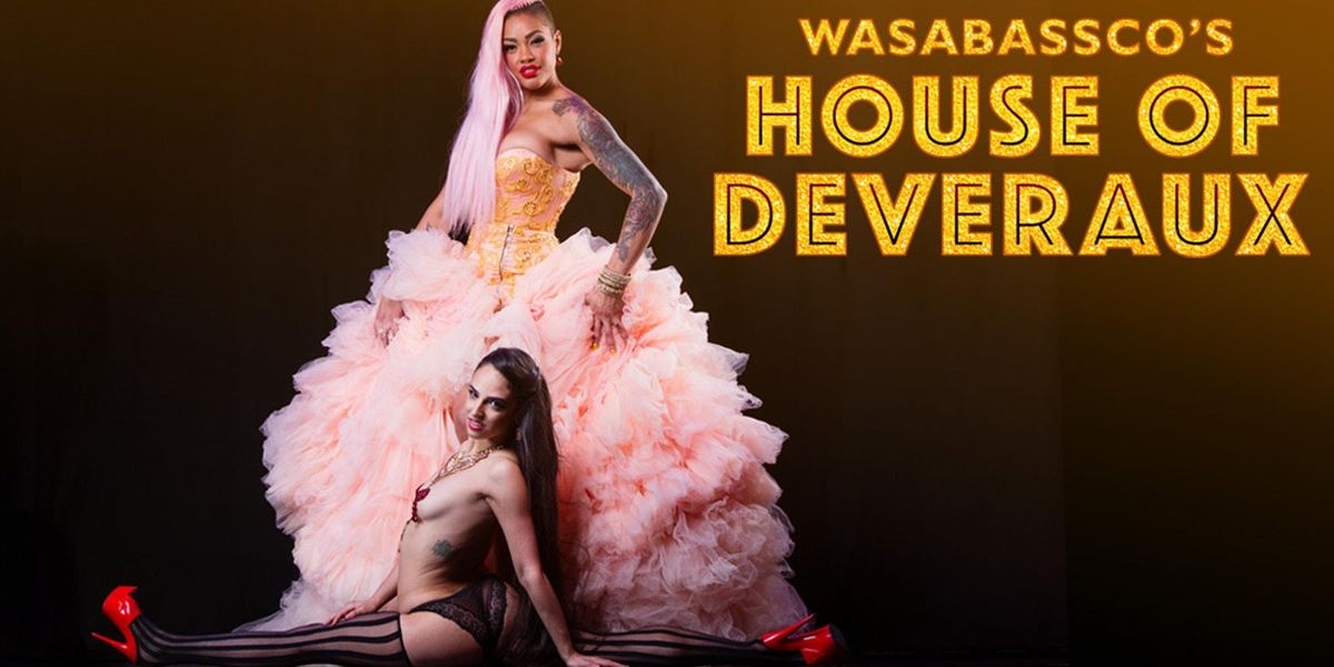 Wasabasscos House of Deveraux presents TAKE IT OFF a KISS Tribute