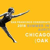 2018 Chicago area (Oak Park) audition SFCD Summer Intensives