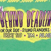 Behind Deadlines Hooray For Our Side Stupid Flanders OC Ska Kids