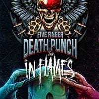 Five Finger Death Punch - In Flames - Of Mice &amp Men