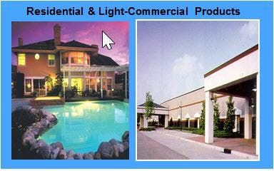 Residential Light Commercial Products