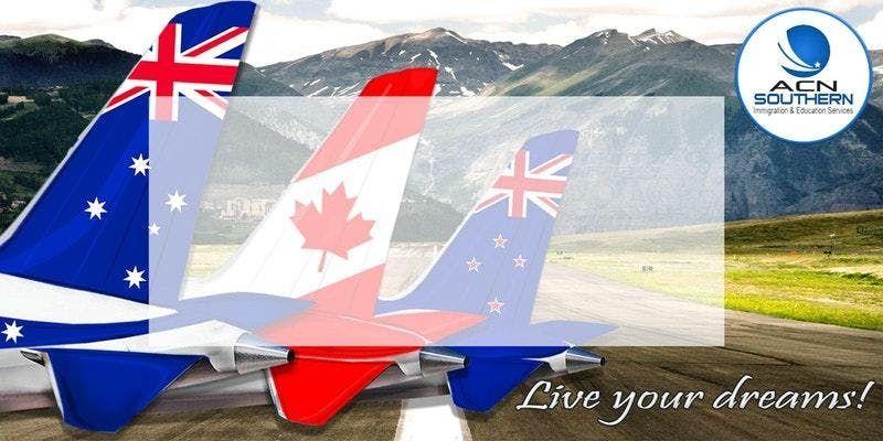 Study or Migrate in Australia Canada New Zealand Webinar FREE